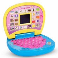 EDUCATIONAL Computer and Learning ABCD, Words & Number Battery Operated Kids Laptop with LED Display and Music