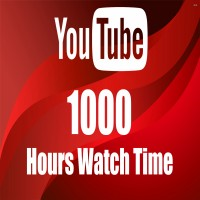 YouTube Watch time View [ 100 - 4000 HOUR ] ( 30 Minute + Video ) [ R30 ] ১০০০ ঘন্টা ইউটিউব ভিউ ওয়াচটাইম