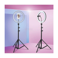 12'' Ring Light Photo Studio Camera, Video lamp with Tripod for Smartphone