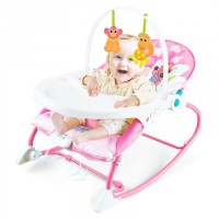 2 in 1 Baby Toddler Rocker Dining Chair Price BD Soft Metallic with sensory