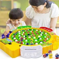 Fishing Fish Game Kids Toy (24 Fishes, 4 Players)