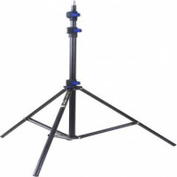 WELBORN Lightweight & Portable 9 Feet Aluminum Alloy Studio Light Stand | for Videos | Portrait | Photography Lighting | Ideal for Outdoor & Indoor Shoots. (LS-9) Tripod  (Black, Supports Up to 10000 g)