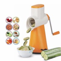 Famous 5 in 1 Vegetable Cutter Grater Slicer 3-Piece Homestar Rotary