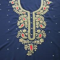 Karchupi Kameez Dress For Women (1 Piece) Blue