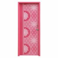 Popular Door Pink Star 7'X2.5' L-T/B