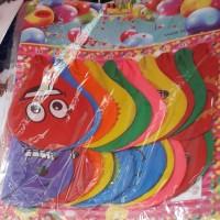 Happy Birthday, Wedding Party Emoji Balloon (20 Pcs)