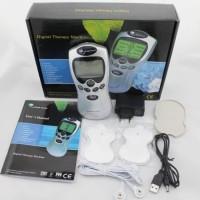 Digital Therapy Machine 4 Pad – Silver