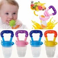 Silicone Baby Fruit Feeding Pacifier - Multicolor