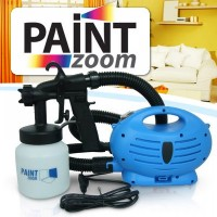Portable Paint Zoom Electric Paint Spray Gun / Paint Zoom Professional Electric Paint Sprayer