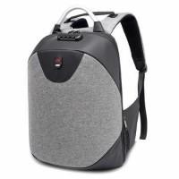 Water Resistant Anti Theft Hidden Zipper Backpack With Lock