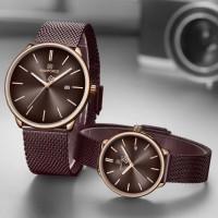 NAVIFORCE 3012 Fashion cuple Quartz Watch, 3ATM Waterproof