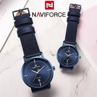 Naviforce Original genuine leather couple set watch  NF3009