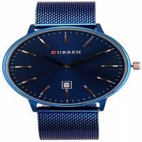 CURREN Original Men's Sports Waterproof Stainless Steel Date Quartz Wrist Watch 8302