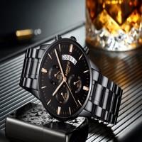 NIBOSI Men's Chronograph Quartz Wristwatch