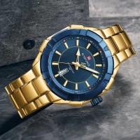 NAVIFORCE Casual Watches Men Military Sport Quartz Wristwatch Mens Waterproof Fashion Steel Band Male Clocks