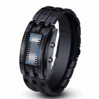 SKMEI 0926 Creative Sport Watch Men Stainless Steel Strap LED Display 5Bar Waterproof Digital WatchSK