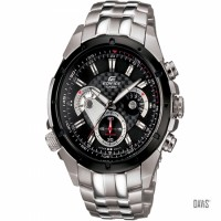 CASIO EDIFICE EF 535 all  stainless steel active cornography and waterproof Men's watch