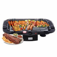Electric Barbecue Grill, BBQ Machine - Black