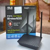 Asus RT-N12+ 3-in-1 Router / AP / Range Extender Router