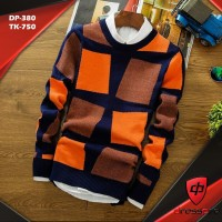 Men's Winter Stylish Navy Blue prient Sweatshirt
