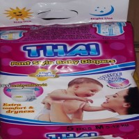 Thai Pant Style Baby Diapers M Size-(5-12kg)-5 pis