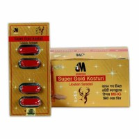 Super Gold Kosturi for Long Lasting Sexual Happiness – 1 Box