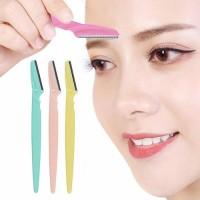 3Pcs/Set Women Eyebrow Razor Facial Hair Remover Eyebrow Trimmer Eye Brow Shaver Makeup Knife Face Care Hair Removal